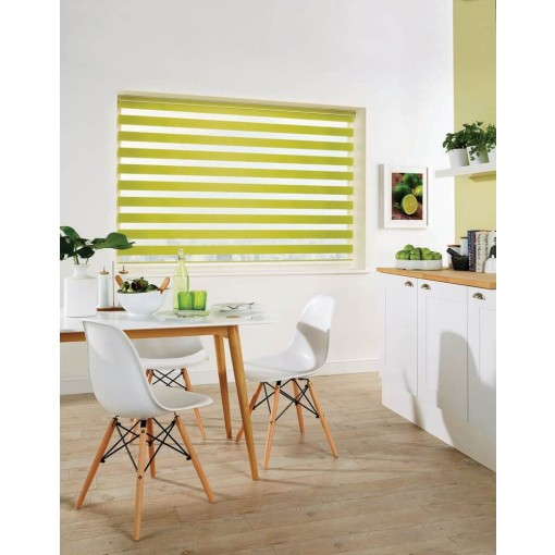 Capri Paradise Green Made to Measure Vision Roller Blind
