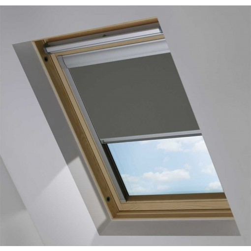 Pewter Skylight Roof Blind