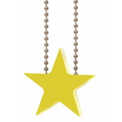 Yellow Star Child Safety Device