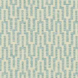 Labyrinth Sky Blue Made to Measure Roman Blind