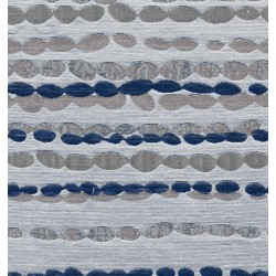 Pebbles Moonlight Blue Made to Measure Blackout Roller Blind