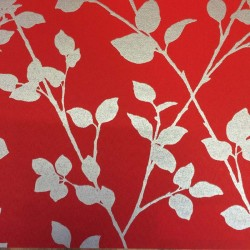 Satina Crimson Made to Measure Roller Blind