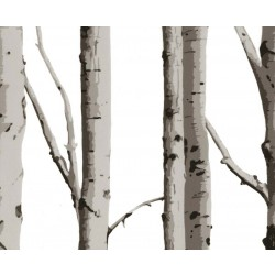 Woodland Silver Birch Made to Measure Roller Blind