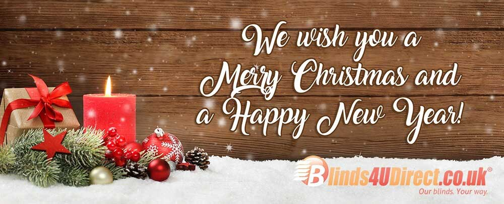 Merry Christmas from Blinds4uDirect.co.uk