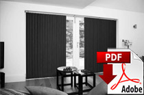 Fitting Louvolite Vertical Blinds